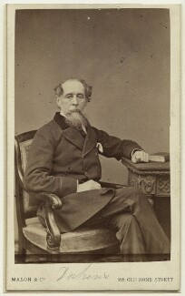 Charles Dickens, by Mason & Co (Robert Hindry Mason) - NPG x11833