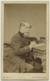 Charles Dickens, by Mason & Co (Robert Hindry Mason) - NPG x11835