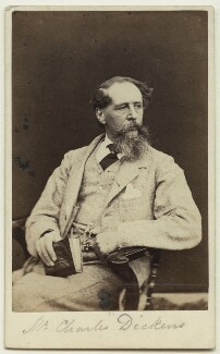 Charles Dickens, by Mason & Co (Robert Hindry Mason) - NPG x11840