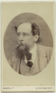 Charles Dickens, by Mason & Co (Robert Hindry Mason) - NPG x11837
