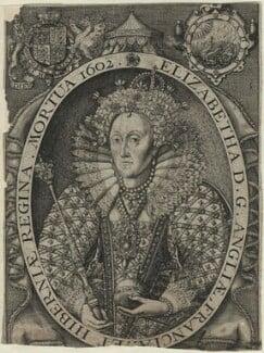 Queen Elizabeth I, by Renold or Reginold Elstrack (Elstracke) - NPG D25025