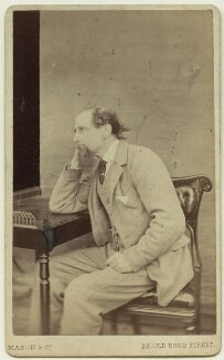 Charles Dickens, by Mason & Co (Robert Hindry Mason) - NPG x11839