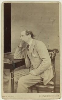 Charles Dickens, by Mason & Co (Robert Hindry Mason) - NPG x11839