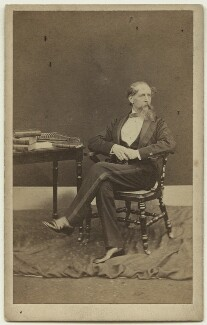 Charles Dickens, by Mason & Co (Robert Hindry Mason) - NPG x11834