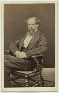 Charles Dickens, by Mason & Co (Robert Hindry Mason) - NPG x11836