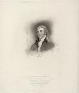 Thomas Gisborne, by Henry Meyer, published by  T. Cadell & W. Davies, after  John Jackson, after  John Hoppner - NPG D31834