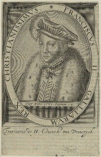 François II (Francis II), King of France, after Unknown artist - NPG D25045