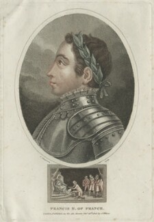 François II (Francis II), King of France, by John Chapman - NPG D25046