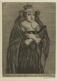 Mary, Queen of Scots, possibly by Richard Gaywood - NPG D25051