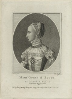 Mary, Queen of Scots, by Edward Harding, after  Silvester (Sylvester) Harding - NPG D25053