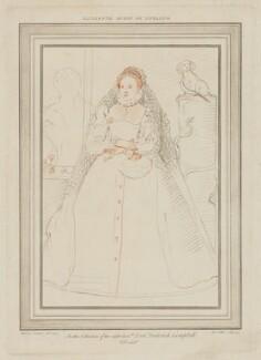 Queen Elizabeth I, by S. Watts, after  Federico Zuccaro - NPG D31835
