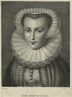 Mary, Queen of Scots, by Madame Fabroni - NPG D25054