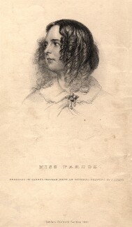 Julia Pardoe, by Samuel Freeman, published by  Richard Bentley, after  John Lilley - NPG D9043
