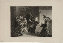 The Last Gifts of Mary Queen of Scots, by George Henry Phillips, after  Alexandre-Marie Colin - NPG D25067