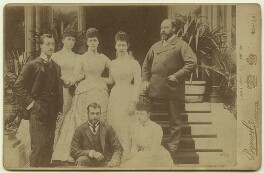 King Edward VII and his family, by Byrne & Co, 1889 - NPG x3804 - © National Portrait Gallery, London