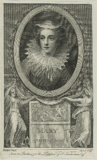 Mary, Queen of Scots, by John Keyse Sherwin, after  Federico Zuccaro - NPG D25075