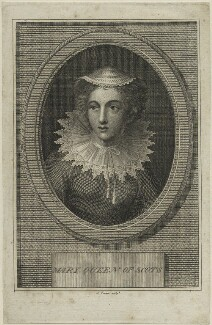 Mary, Queen of Scots, by J. Fraser - NPG D25076