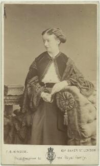 Amelia Ann Blanford Edwards, by Frederick Richard Window - NPG x14331