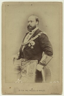 King Edward VII, by (Octavius) Charles Watkins, published by  A. Marion & Co - NPG x46470
