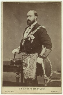 King Edward VII, by (Octavius) Charles Watkins, published by  A. Marion & Co - NPG x76492