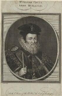 William Cecil, 1st Baron Burghley, by John Goldar - NPG D25107