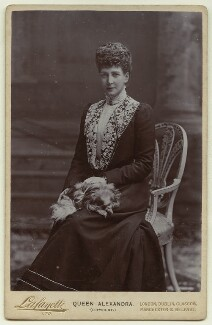 Queen Alexandra, by Lafayette - NPG x129581