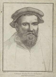 Edward Stanley, 3rd Earl of Derby, by Richard Dalton, after  Hans Holbein the Younger - NPG D25126