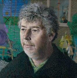 Sir Harrison Birtwistle, by Tom Phillips - NPG 6822
