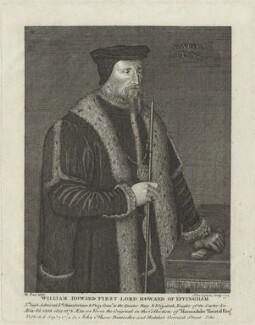 William Howard, 1st Baron Howard of Effingham, by John Ogborne - NPG D25131