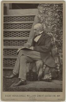William Ewart Gladstone, by Charles Henry Braithwaite - NPG x129585