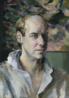 Brian Eno, by Tom Phillips - NPG 6824