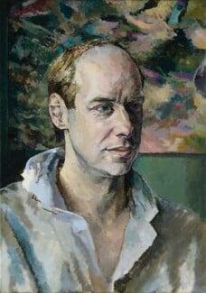 Brian Eno, by Tom Phillips - NPG 6824