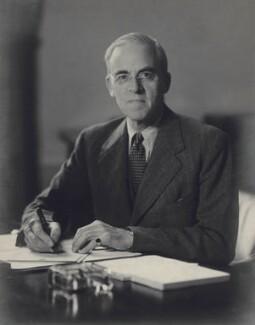Sir Stafford Cripps, by Walter Stoneman - NPG x166855