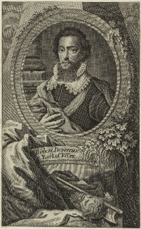 Robert Devereux, 2nd Earl of Essex, after Isaac Oliver - NPG D25137
