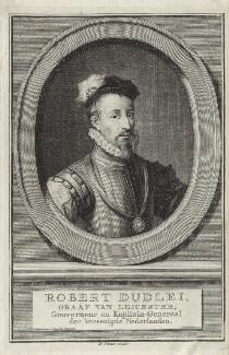 Robert Dudley, 1st Earl of Leicester, by Jacobus Houbraken - NPG D25149
