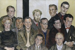 The Situation Group, by Sylvia Sleigh - NPG 6817