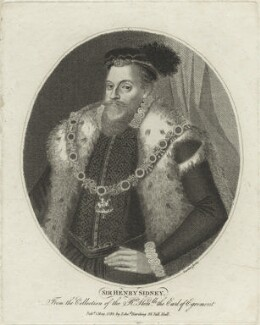 Sir Henry Sidney, by and published by Edward Harding - NPG D25160