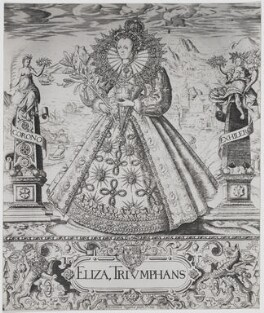 Queen Elizabeth I, after William Rogers - NPG D31851