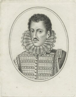 Philip Howard, 13th Earl of Arundel, by R. Grave, after  Lucas Vorsterman - NPG D25173