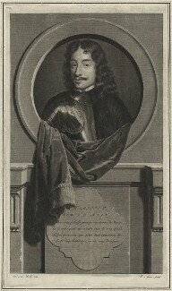 James Hamilton, 3rd Earl of Arran, by Pieter Stevens van Gunst, after  Adriaen van der Werff, 1707 - NPG D25176 - © National Portrait Gallery, London