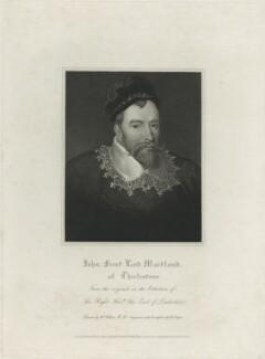 John Maitland, 1st Baron Maitland, by Robert Cooper, published by  Lackington, Hughes, Harding, Mavor & Jones, published by  Longman, Hurst, Rees, Orme & Brown, after  William Hilton - NPG D25179