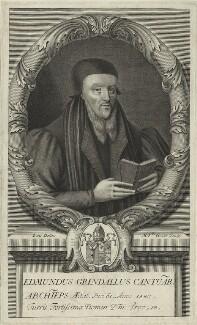 Edmund Grindal, by Michael Vandergucht - NPG D25198