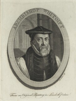 John Whitgift, by Thomas Trotter - NPG D25199