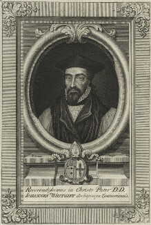 John Whitgift, by George Vertue - NPG D25201