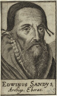 Edwin Sandys, after Unknown artist - NPG D25203