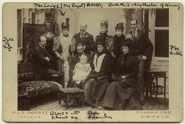 King Edward VII and his family, by W. & D. Downey - NPG x129603