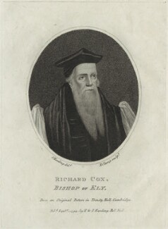 Richard Cox, by R. Clamp - NPG D25210