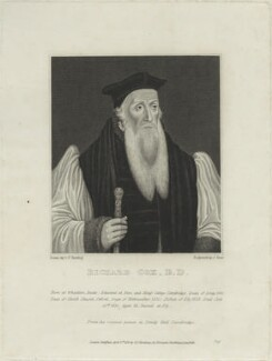 Richard Cox, by James Stow - NPG D25212