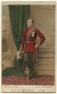 King Edward VII when Prince of Wales, by John Jabez Edwin Mayall - NPG Ax46730
