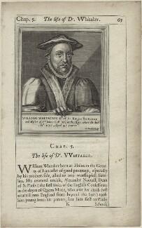 William Whitaker, by William Marshall - NPG D25229